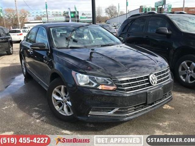 2017 VOLKSWAGEN PASSAT Trendline+   ONE OWNER   CAM   HEATED SEATS in London, Ontario