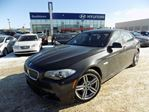 2013 BMW 5 Series Mpackage/AWD/NAV/LEATHER/SUNROOF in Edmonton, Alberta