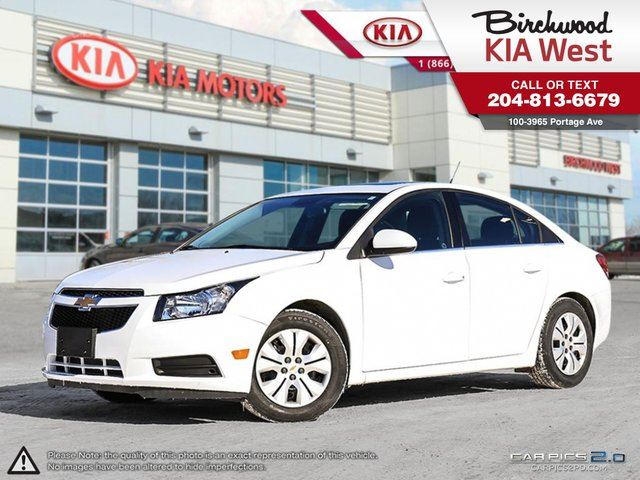 2014 CHEVROLET CRUZE 1LT **LOCAL/ ONE OWNER/ LOW KM** in Winnipeg, Manitoba