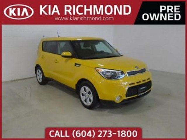 2014 KIA SOUL LX in Richmond, British Columbia
