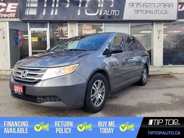 2011 Honda Odyssey EX-L ** DVD Player, Leather, Sunroof ** in Bowmanville, Ontario