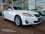 2011 Lexus IS 250 leather with moonroof  in Richmond, British Columbia