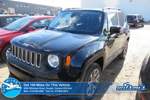 2016 JEEP RENEGADE NORTH 4X4 HEATED STEERING+ SEATS! REMOTE START! BLUETOOTH! 18ALLOYS! in Guelph, Ontario