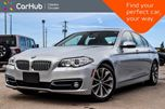 2014 BMW 5 Series 528i xDrive Navi Sunroof Backup Cam Bluetooth Leather Push Start 18Alloy Rims in Bolton, Ontario