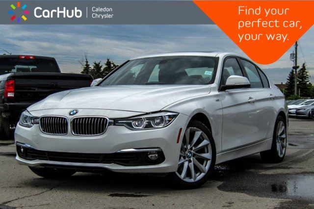 2017 BMW 3 Series 330i xDrive Navigation Sunroof Bluetooth Heated Front Seats 18Alloy Rims in Bolton, Ontario