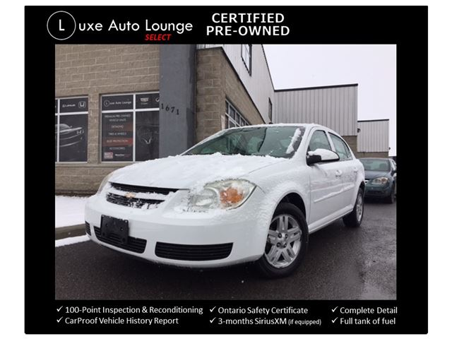 2006 Chevrolet Cobalt LT - AUTO, A/C, POWER GROUP, CRUISE CONTROL, PIONEER AUDIO, LUXE CERTIFIED SELECT PRE-OWNED! in Orleans, Ontario