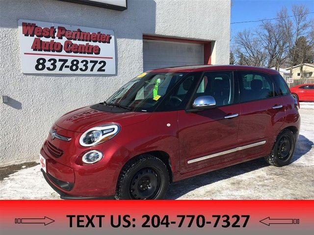 2014 FIAT 500L Lounge **2 sets of tires and rims** in Winnipeg, Manitoba