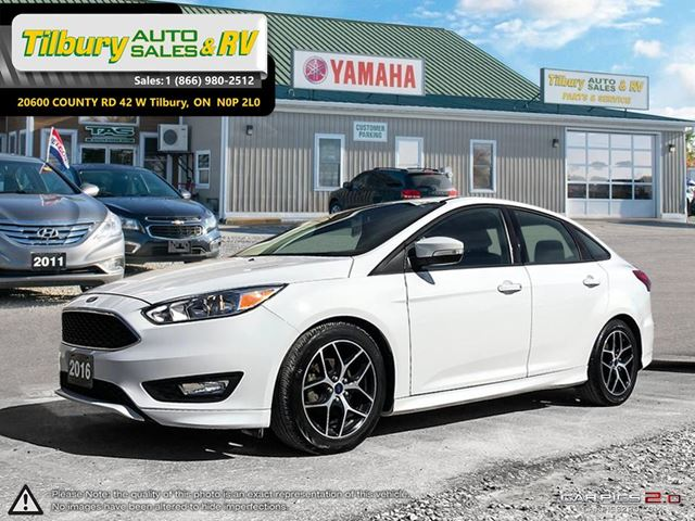 2016 FORD FOCUS SE. GREAT CAR! CLEAN. FUN TO DRIVE. in Tilbury, Ontario