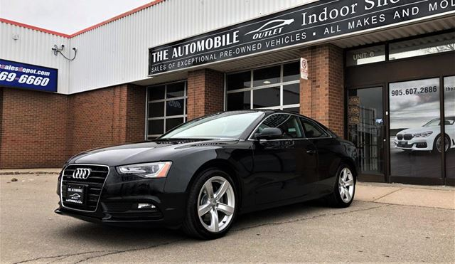 2013 AUDI A5 AWD NO ACCIDENT in Mississauga, Ontario
