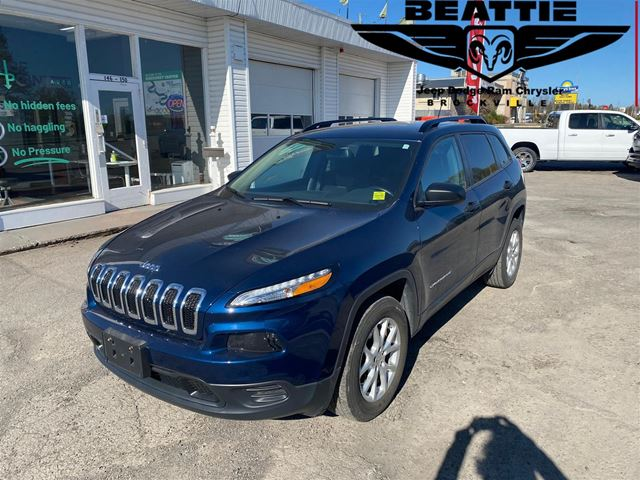 2018 Jeep Cherokee Sport CAMERA/ REMOTE START/ BLUETOOTH in Brockville, Ontario