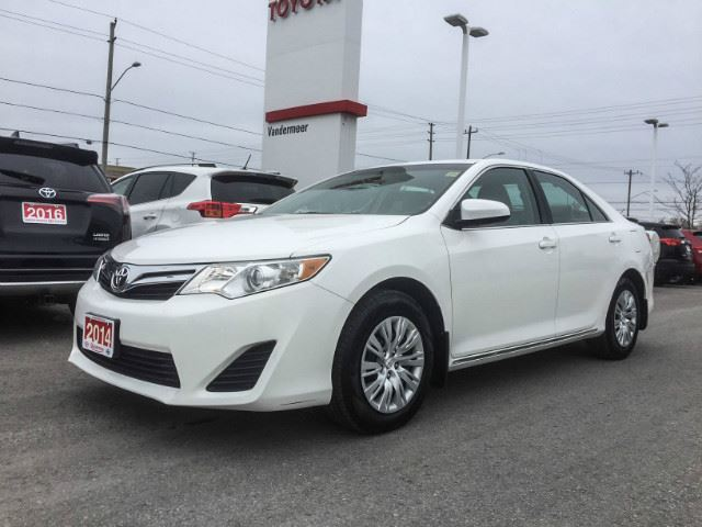 2014 Toyota Camry   LE-CERTIFIED! in Cobourg, Ontario