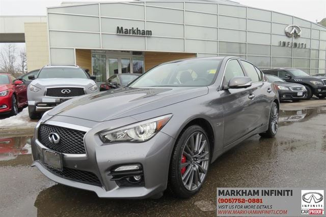 2017 INFINITI Q50 4dr Sdn 3.0t Red Sport 400 in Mississauga, Ontario