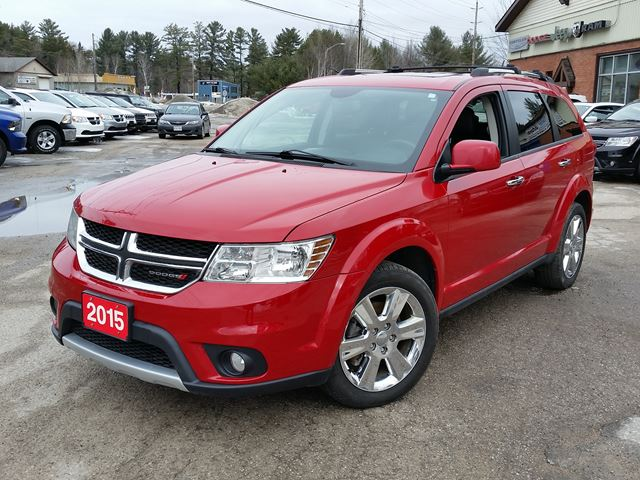2015 Dodge Journey R/T in Gravenhurst, Ontario