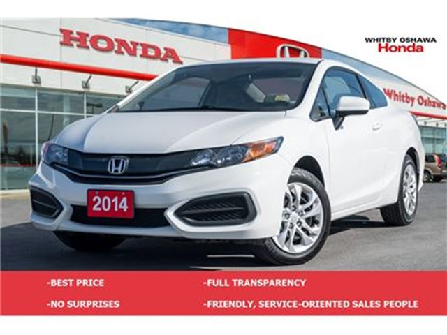 2014 HONDA Civic LX   Automatic in Whitby, Ontario