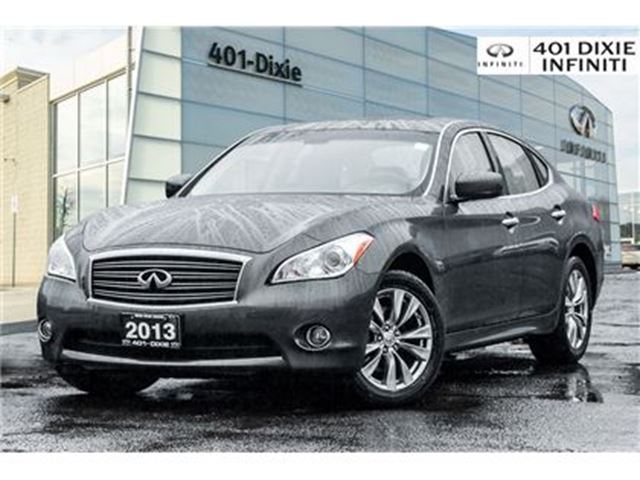 2013 INFINITI M37 AWD, Rear Camera, heated/cooled Seats in Mississauga, Ontario