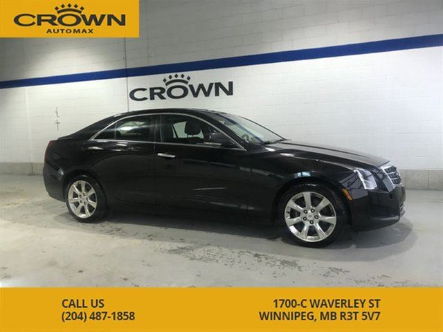 2014 CADILLAC ATS Luxury 2.0T AWD ** No Accidents** 1 Owner Lease Re in Winnipeg, Manitoba