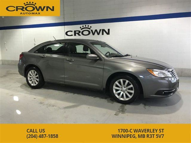 2012 CHRYSLER 200 Touring ** Low Kms** 1 Owner** Heated Seats** Allo in Winnipeg, Manitoba