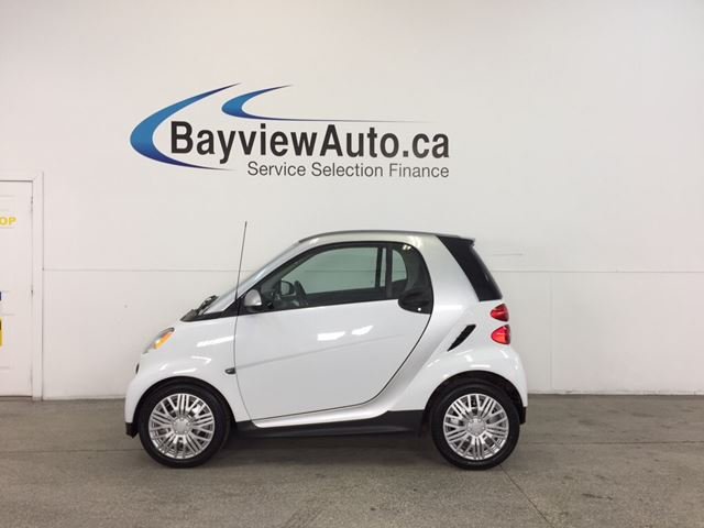 2013 SMART FORTWO - AUTO|KEYLESS ENTRY|A/C|BLUETOOTH|LOW KM! in Belleville, Ontario