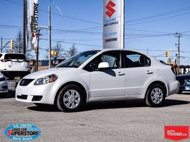 2011 SUZUKI SX4 Sedan in Barrie, Ontario