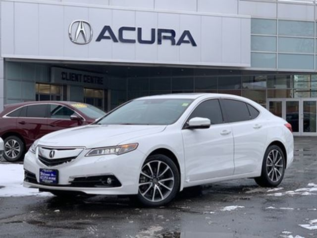 2017 ACURA TLX ELITE   ONLY12000KMS   COMPANYDEMO   TINT+3M   AWD in Burlington, Ontario