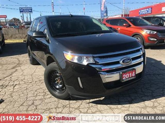 2014 FORD EDGE SEL   NAV   LEATHER   ROOF   CAM in London, Ontario