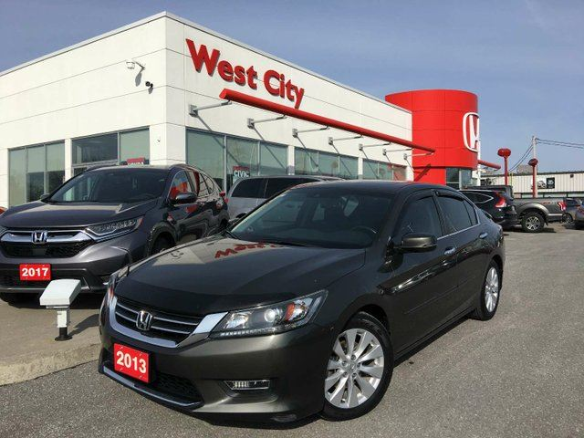 2013 HONDA ACCORD EX-L,LEATHER,XM RADIO! in Belleville, Ontario