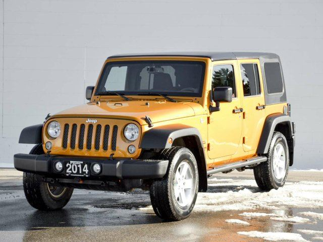 2014 JEEP WRANGLER Unlimited Unlimited in Penticton, British Columbia
