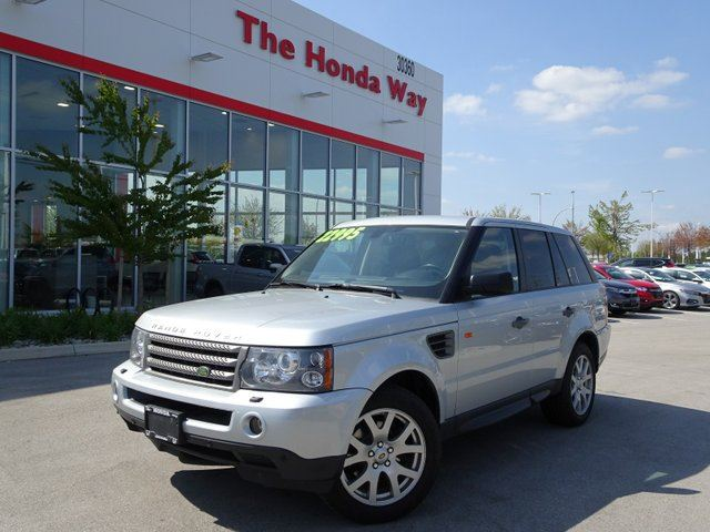2008 LAND ROVER RANGE ROVER Sport HSE in Abbotsford, British Columbia