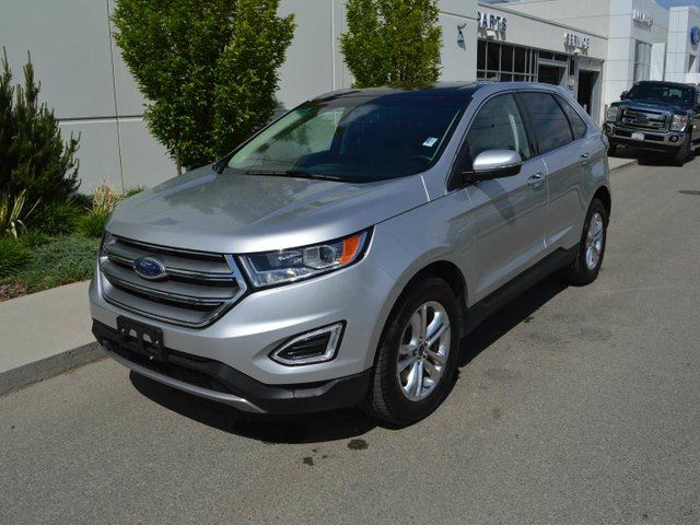 2017 FORD EDGE SEL 4dr All-wheel Drive in Kamloops, British Columbia