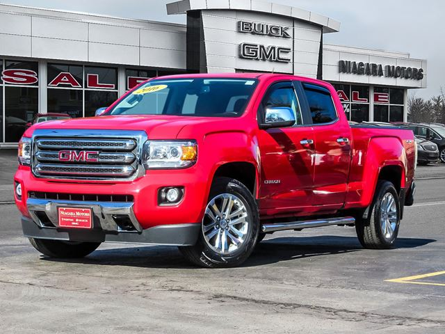 2016 GMC Canyon SLT V6 4WD CREW CAB LWB ONE OWNER LOCAL TRADE in Virgil, Ontario