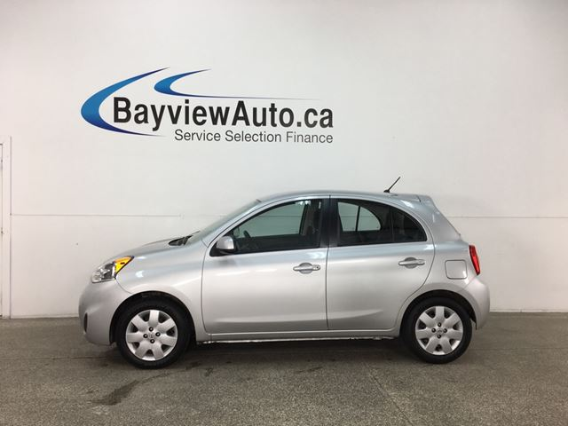 2015 NISSAN MICRA S- AUTO|A/C|BLUETOOTH|CRUISE! in Belleville, Ontario
