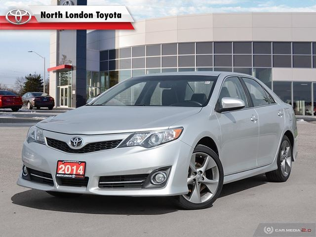 2014 TOYOTA Camry SE Toyota Certified, One Owner, No Accidents, Toyota Serviced in London, Ontario