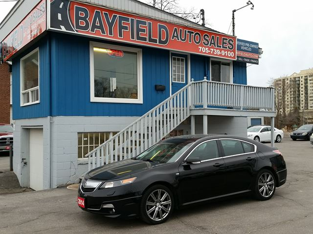 2014 ACURA TL A-Spec SH AWD **Black/Black/Only 89k!** in Barrie, Ontario