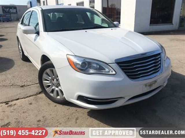 2013 CHRYSLER 200 LX   APPLY & GET APPROVED in London, Ontario