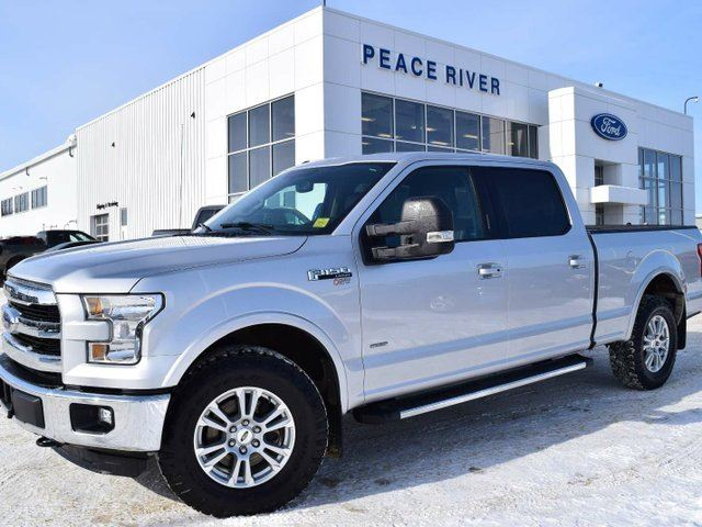 2016 FORD F-150 Lariat 4x4 SuperCrew Cab Styleside 6.5 ft. box 157 in. WB in Peace River, Alberta