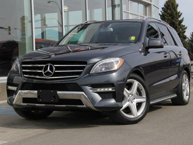 2013 MERCEDES-BENZ M-CLASS ML 350 BlueTEC 4dr All-wheel Drive 4MATIC in Kamloops, British Columbia