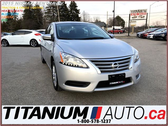 2015 NISSAN SENTRA SV+Camera+Heated Seats+Traction & Cruise Control++ in London, Ontario