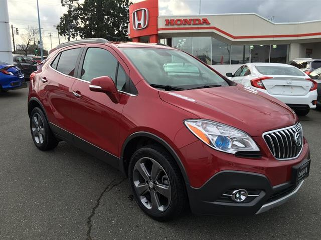 2014 BUICK ENCORE Leather Navigation AWD Bluetooth in Victoria, British Columbia