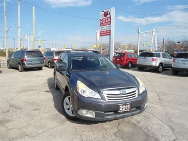 2011 SUBARU OUTBACK Auto 2.5i Prem AWD 1OWNER SAFETY in Oakville, Ontario