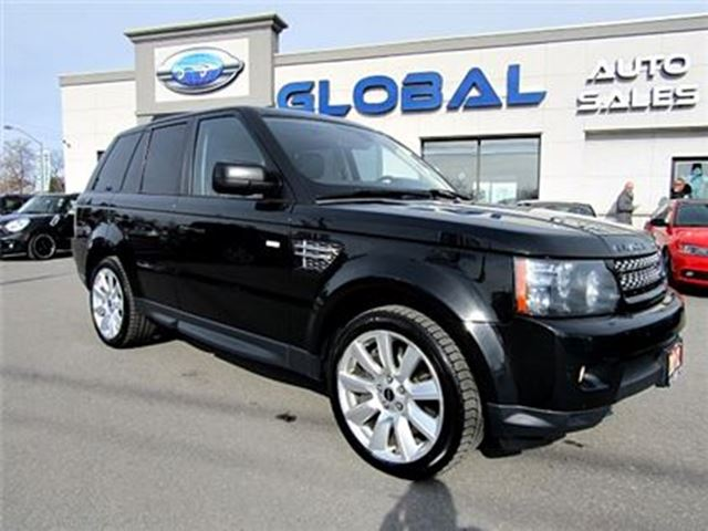 2012 LAND ROVER RANGE ROVER Supercharged Supercharged NAVIGATION , SUPER CLEAN . in Ottawa, Ontario