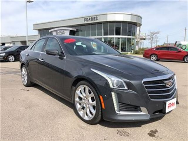 2015 CADILLAC CTS 3.6L Premium \ 2.99% FINANCING \  AWD \ in Waterloo, Ontario