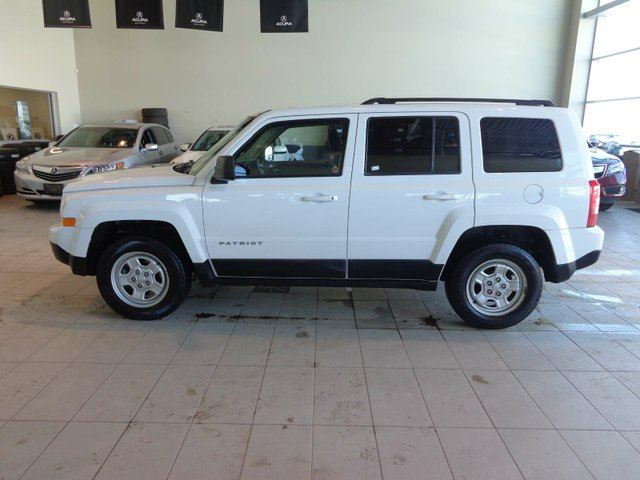 2013 JEEP Patriot SPORT - Cruise Control, AM/FM, AUX Input, CD player. in Red Deer, Alberta