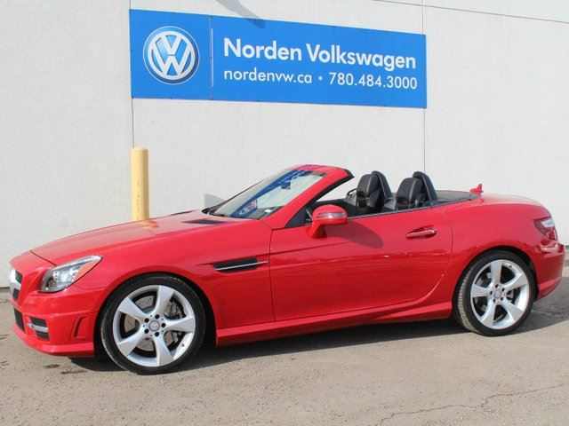 2013 MERCEDES-BENZ SLK-Class Roadster in Edmonton, Alberta
