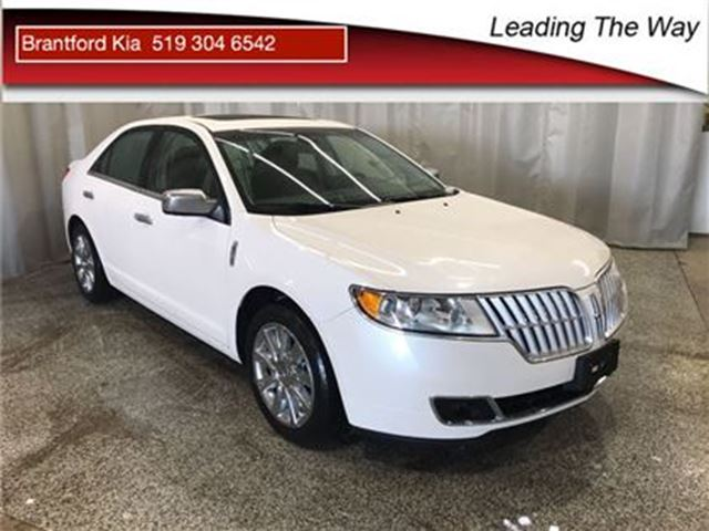 2011 LINCOLN MKZ AWD   Leather   Nav in Brantford, Ontario