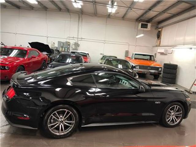 2017 Ford Mustang GT Premium Navigation Leather Automatic Low Kms in St George Brant, Ontario