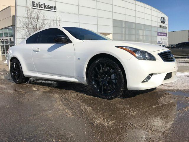 2015 INFINITI Q60 LIMITED EDITION COUPE/ALL WHEEL DRIVE/NAVIGATION/HEATED SEATS/BACK UP CAMERA in Edmonton, Alberta