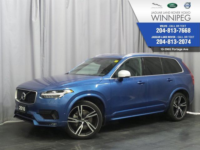 2016 VOLVO XC90 T6 R-Design *ASK ABOUT THE CPO PROGRAM!* in Winnipeg, Manitoba