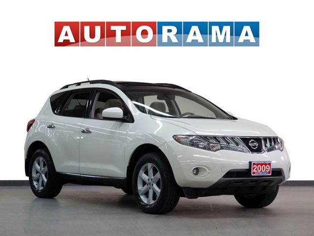 2009 NISSAN Murano SL AWD PANORAMIC SUNROOF BACKUP CAMERA in North York, Ontario