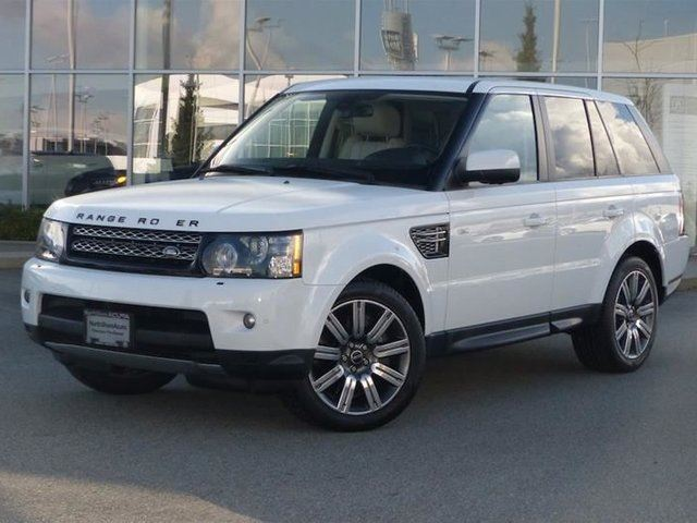 2012 LAND ROVER RANGE ROVER Sport V8 Supercharged (SC) in North Vancouver, British Columbia