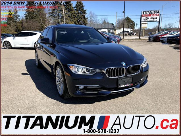 2014 BMW 3 SERIES 328i Luxury Line+xDrive+AWD+GPS+Camera & Sensors++ in London, Ontario